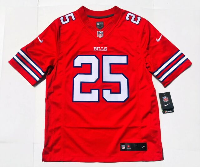 premium selection 01b61 4c32c Nike NFL Buffalo Bills LeSean McCoy Untouchable Limited Color Rush Jersey  Mens M
