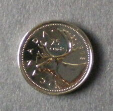 1998 CANADIAN 25 CENT (FINISH : MS-65 NC)