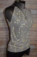 Anthropologie Vanessa Virginia blouse top fish pattern size small S