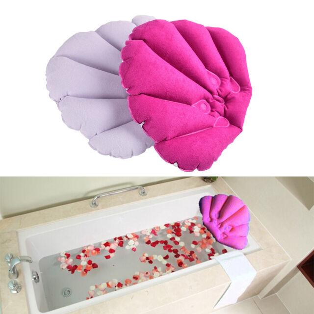 Bathtub Relax Spa Pillow Inflatable Bath Pillow Head Neck Cushion