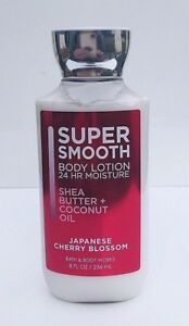 Details about BATH & BODY WORKS SUPER SMOOTH JAPANESE CHERRY BLOSSOM BODY  LOTION