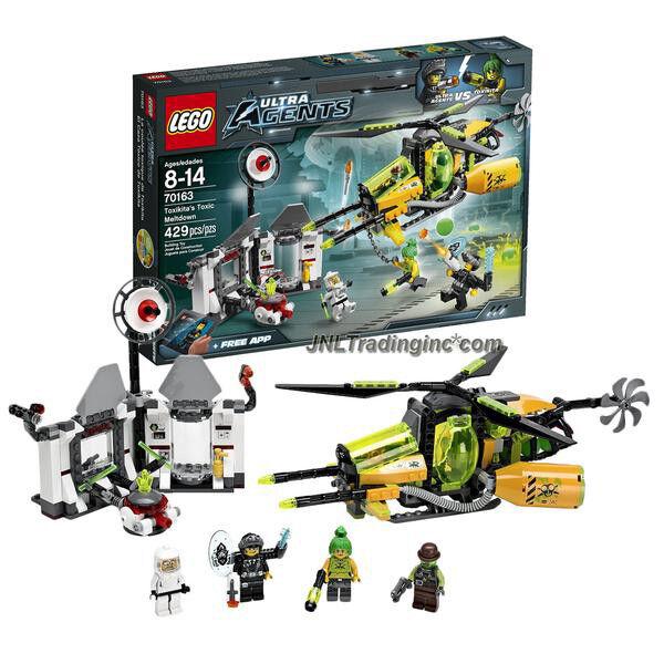 Nouveau 2014 LEGO Ultra Agents Series Set  70163 - Toxikita toxique du MELTDOWN 429Pcs