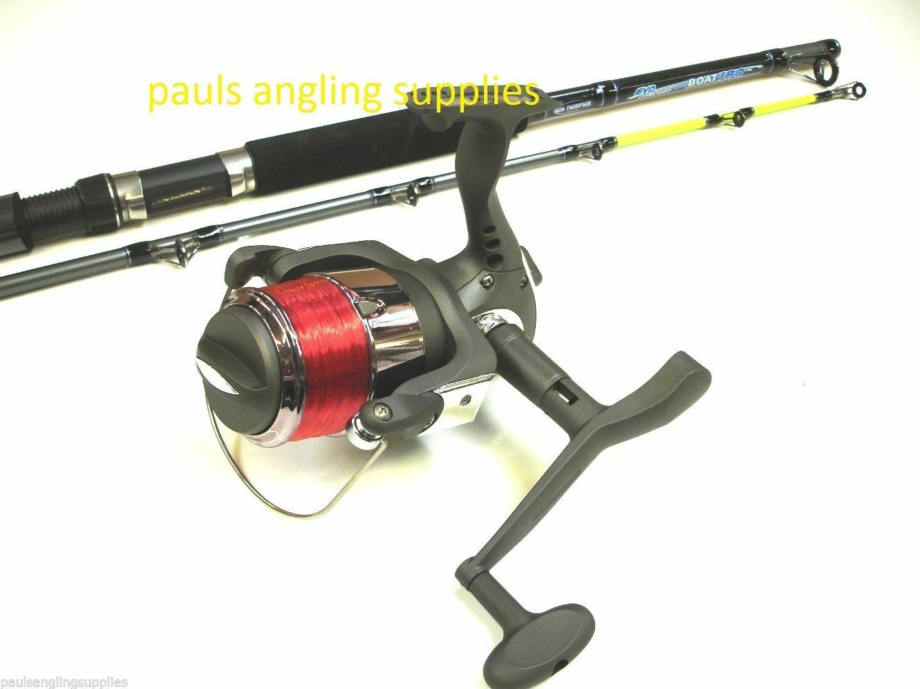 NGT Max 6 ft Boat Fishing Rod & Max Performance Fixed Reel