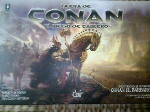La era de Conan,juego de tablero,Nuevo desprecintado!