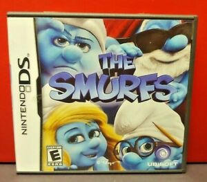 The-Smurfs-Nintendo-DS-DS-Lite-3DS-2DS-Game-Complete-Tested