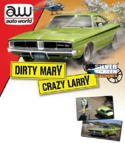 Dodge Charger R T Dirty Mary Crazy larry auto World 1 18 OVP nuevo