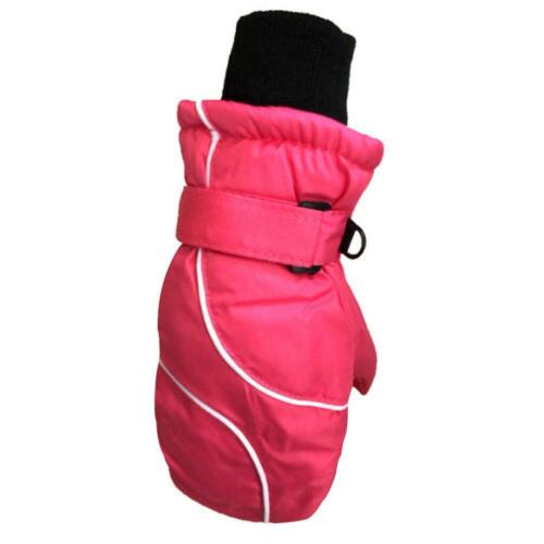 Children Kids Winter Snow Warm Gloves Boy Girls Ski Snowboard Wind//Waterproof