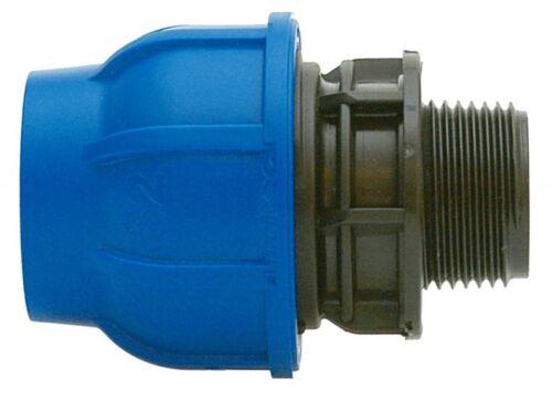 """PE-Rohr AG-Anschlussverschraubung 32 mm x 1 1//4/"""""""