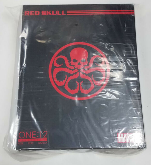 AUTHENTIC Mezco One:12 Collective Marvel Comics RED SKULL Action Figure 2018