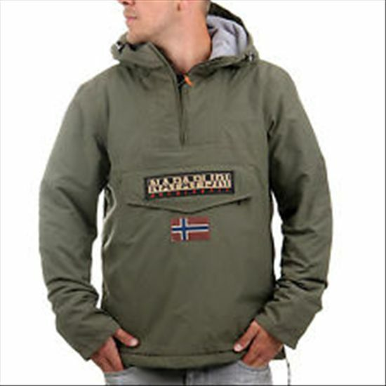 NAPAPIJRI RAINFOREST WINTER Olive mis-XXL