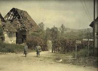 6x4 Gloss Photo ww2F62 World War 1 The Great War In Colour Db 83 34 101 12