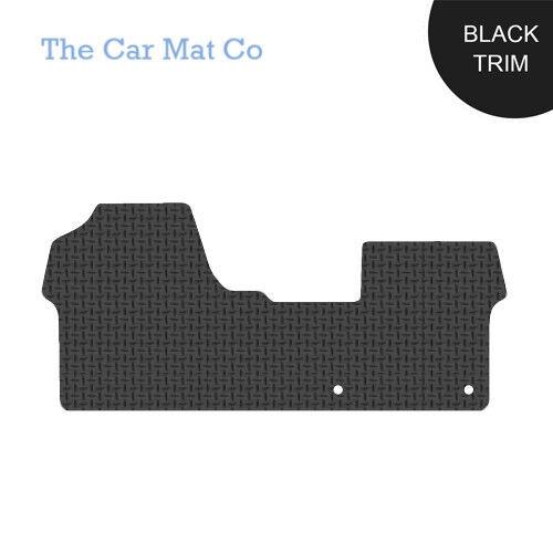 Citroen Dispatch 2016-Present Fully Tailored Black Rubber Van Mats