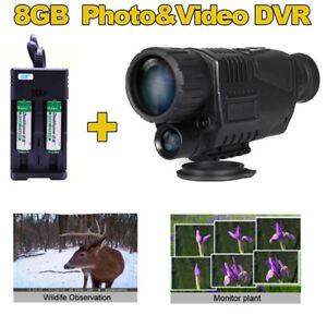 BOBLOV-5x40-Infrared-Dark-Night-Vision-Monocular-Binoculars-Video-DVR-for-hunt