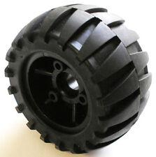 113mm x 64mm Off-road Rubber on Nylon Longboard/Mountainboard wheel, set of four