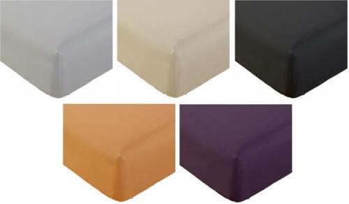 Mellanni 1800 Fitted Bed Sheet Brushed Microfiber Wrinkle Resistant Deep Pocket