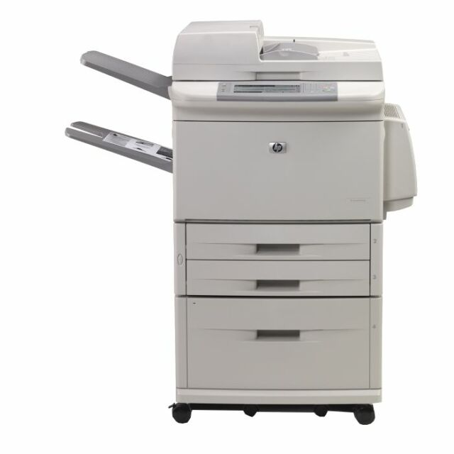 HP LaserJet 9040 MFP Q3726A Drucker Kopierer Fax Netzwerk Parallel *Neuwertig*