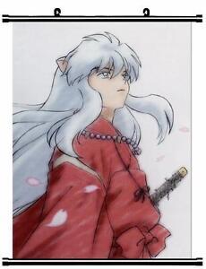 HOT Japan Anime InuYasha Sesshoumaru Home Decor poster ...  |Inuyasha Hot