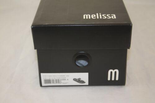 NEW 31613 MELISSA COSMIC AD 51812 BLACK//TORTOISE SLIDES SANDAL