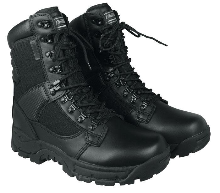 CI botas elite-forces negro 39-47 botas combate botas de cuero botas