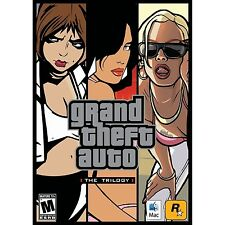 Grand Theft Auto: The Trilogy  (Mac, 2010) BRAND NEW & SEALED