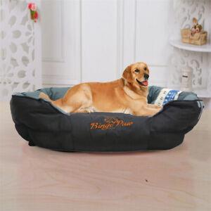 Extra-Large-Jumbo-Orthopedic-Pet-Dog-Bed-Dog-Baskets-Kennel-Pillow-Waterproof-AU