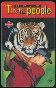 1997-Tiger-Woods-Taiwan-Cardwon-Chinese-Time-People-Promo-Plastic-Golf-Card