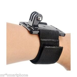 New-Wrist-Strap-Band-Mount-For-Go-Pro-HD-Hero-4-3-3-2-1-6-5-7-Camera-Cycling
