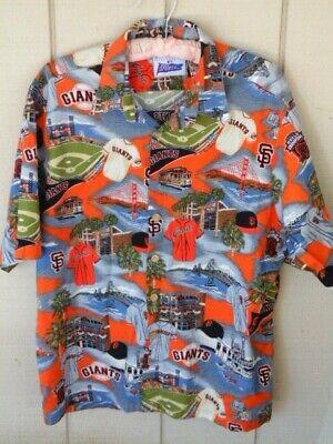 best sneakers e1986 368c6 Reyn Spooner Exclusive San Francisco SF Giants MLB Hawaiian Shirt Mens XL |  eBay