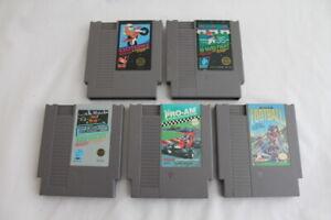 Lot-5-Nintendo-Entertainment-System-NES-Video-Games-Excitebike-ProAm-Rad-Racer