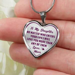 Novelty Luxury Necklace Birthday Gifts For Daughter From Mom Mommy