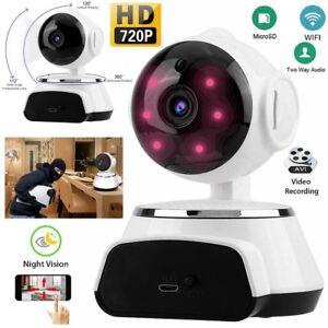 Details about 720P HD Wireless Wifi IP Camera Webcam Baby/Pet Monitor CAM  Pan Tilt CCTV