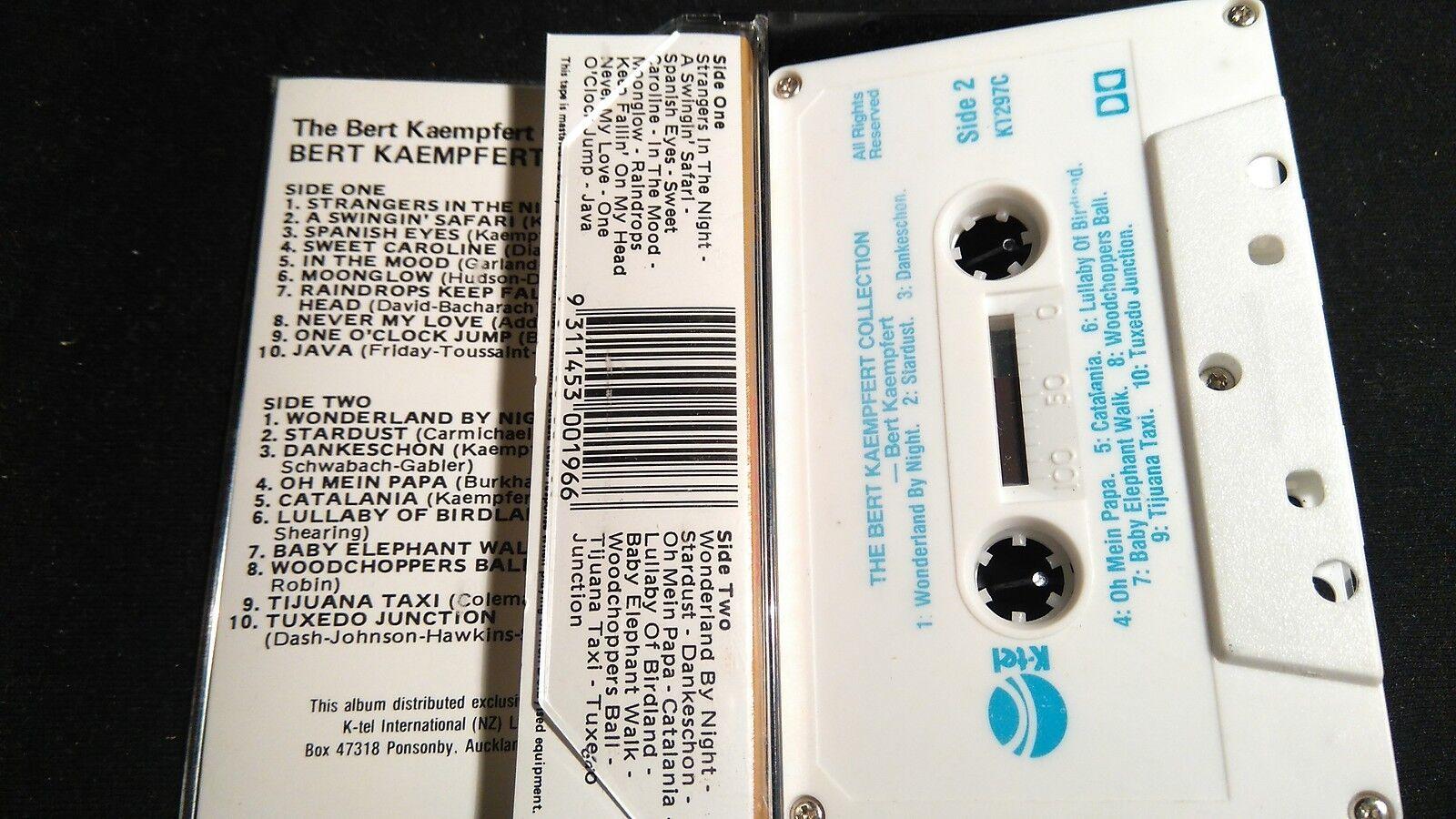 Bert Kaempfert Collection Mc Unique Nueva Zelanda Made Mc Collection Cinta K-Tel Etiqueta NM 4e40fd