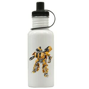 Personalized Transformers Bumblebee Water Bottle Gift