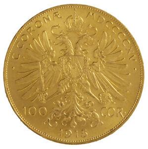 Austrian 100 Corona/Hungarian 100 Korona Gold Coin (Random Date)