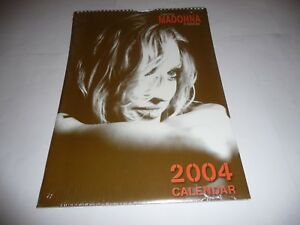 The-Many-Faces-of-Madonna-21st-Century-Icon-2004-Calendar-SEALED