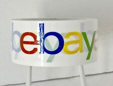 1 (One) Roll eBay Branded Logo BOPP Shipping Tape 75 yds x 2'' USPS First Class