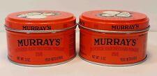 MURRAY'S (MURRAYS) SUPERIOR HAIRDRESSING POMADE *2LOT* (3OZ)