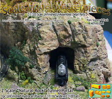 "Z Scale ""Natural Rock"" Tunnel Portal Scale Model Masterpieces 1;220*NEW N3PR93"