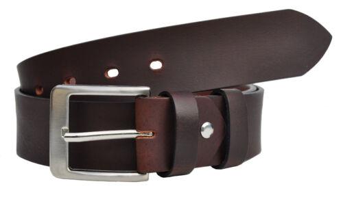 SX fino XXXXL circa 4mm Dick pieno pelle cintura belt circa 4cm colore /& lunghezza selezionabile