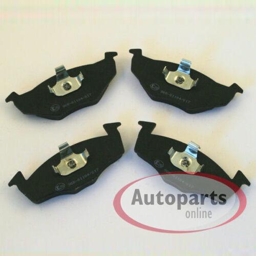 VW Lupo Bremsscheiben Bremsen Bremsbeläge Klötze vorne für die Vorderachse