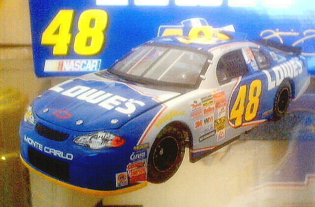 JIMMIE JOHNSON 2002 LOWES ROOKIE TEAM CALIBER OWNERS SERIES SERIES SERIES 1 24 DIECAST 347a2d