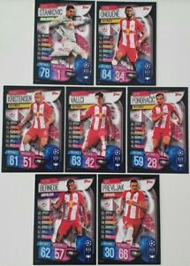 2019/20 Match Attax UEFA Champions Soccer Cards - Salzburg Team Set