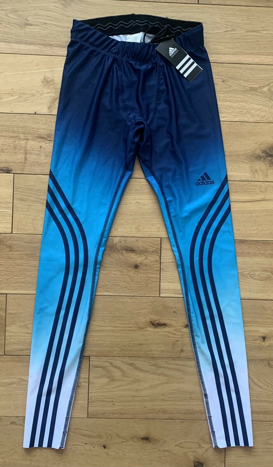 Adidas Men's X Country Climalite Long Ski Race Tight New M36117 Size XS