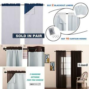 Nicetown-White-Blackout-Curtain-Liners-For-Window-Noise-Reducing-Light-Blockin