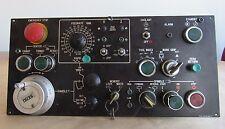 HITACHI CNC CONTROL PANEL OPERATOR LX-2 1712-05-202-11 W/ SEIKI PULSE GENERATOR