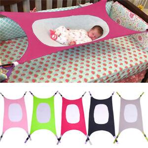New-Baby-Hammock-Newborn-Baby-Infant-Bed-Cot-Elastic-Detachable-Baby-Crib-Safe