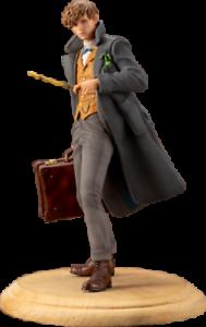 Newt Scamander (fantástico Besteias  los crímenes de Grindelwald) ArtFX + Estatua 18cm