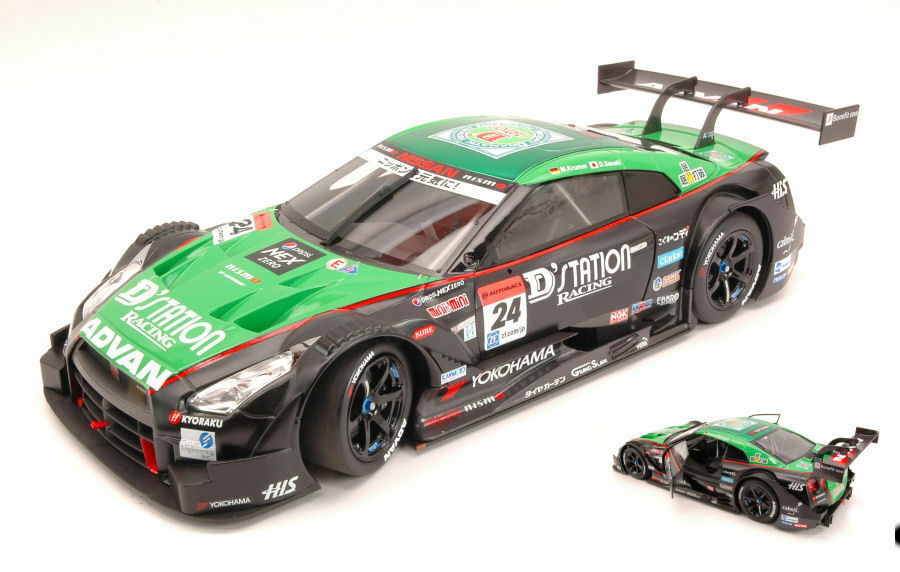 Nissan Gt-R th Super Gt500 2014 M. Krumm   D. Sasaki 1 18 Model 81019