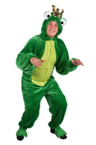 THE Herren Kostüm Overall Frosch Froschkönig Karneval