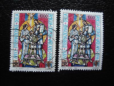 Briefmarke Gesundheit Effektiv StäRken 982 X2 Gestempelt Briefmarke Yvert & Tellier Nr a28 Vatikan